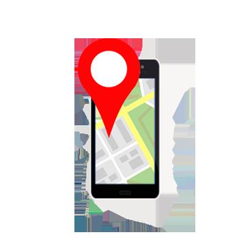 GEOlocalización empresas Google maps en smartphone