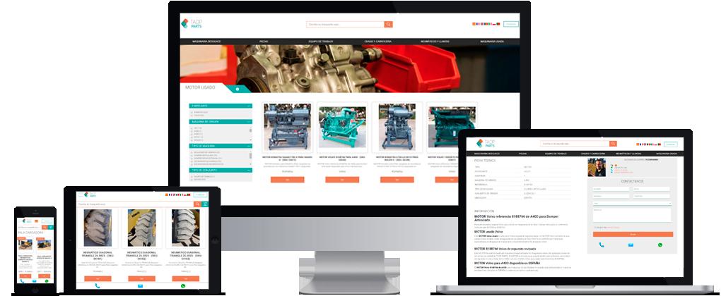 PrestaShop integrado con ERP y generación automatica de contenidos