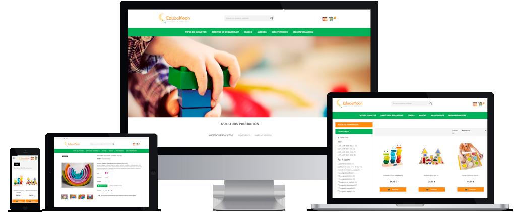 Tienda online PrestaShop de Juguetes educativos