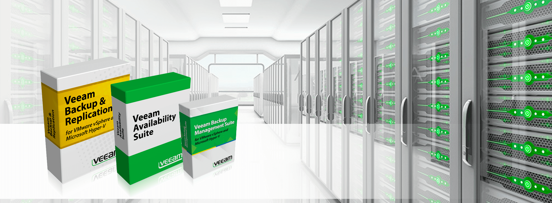 Soluciones de back up y recuperación anti desastres Veeam para empresas - ENETIC