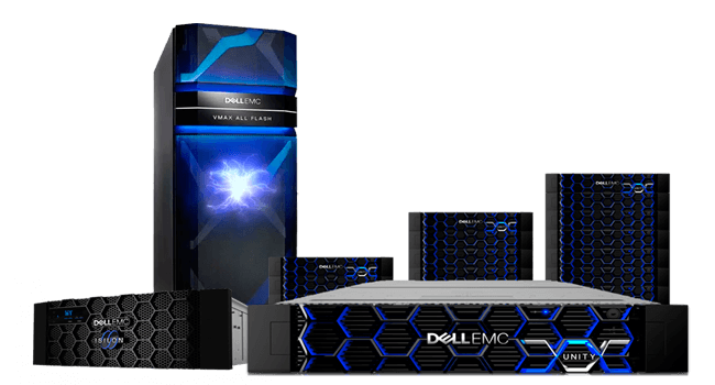 Soluciones de almacenamiento All Flash - Dell EMC storage
