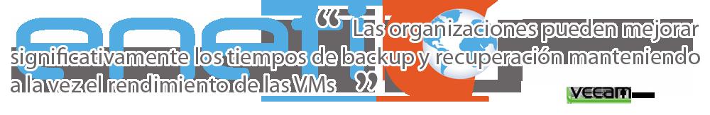 Back up y recuperación de datos Veeam en Valencia