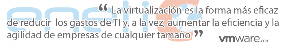 virtualización reduce gastos TI - ENETIC vmware partner en Valencia