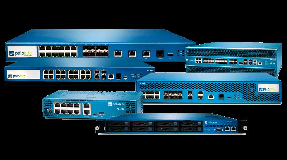 Soluciones de seguridad de red Palo Alto