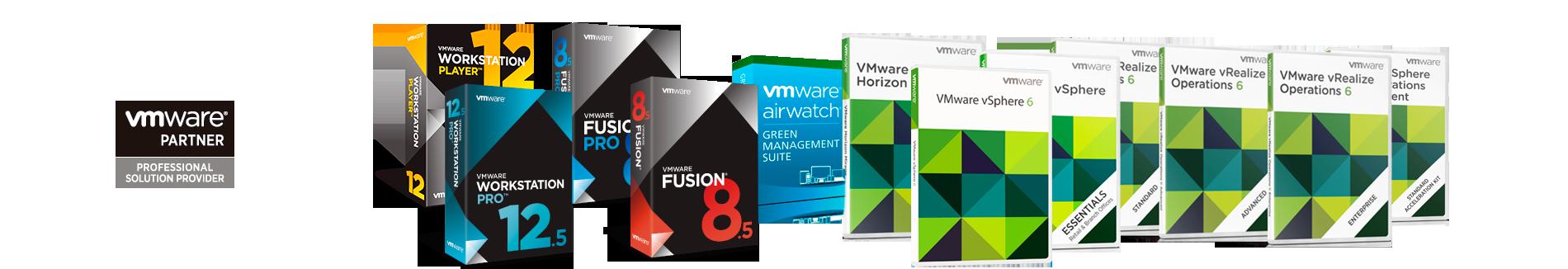 Soluciones de virtualización de VMWARE
